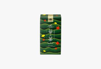 茶の菓 3枚入 秋限定パッケージ(緑)