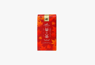 茶の菓 3枚入 秋限定パッケージ(赤)