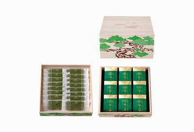 ◆桐箱二段 茶の菓・生茶の菓