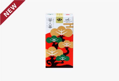 ◆茶の菓 3枚入 お正月限定パッケージ[干支丑(白)]