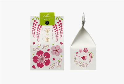 △茶の菓 5枚入 ホワイトデー限定パッケージ