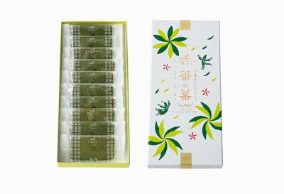 △茶の菓 10枚入 ホワイトデー限定パッケージ