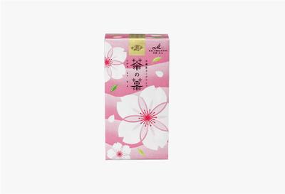 茶の菓 3枚入 京の春限定パッケージ(ピンク)
