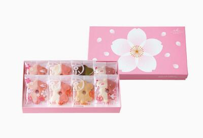 △京サブレ 京の春(さくら) 8枚入